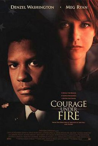 Courage Under Fire - Theatrical release poster