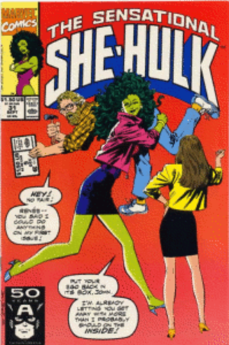 She-Hulk - Image: Cover of The Sensational She Hulk No. 31