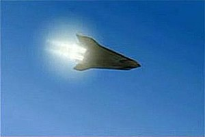 …then ignites its scramjets for the hypersonic...