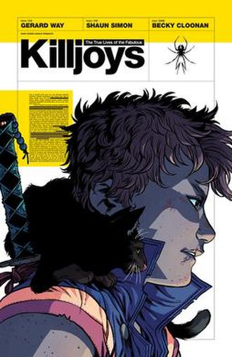 The True Lives of the Fabulous Killjoys - Cover of the trade paperback edition