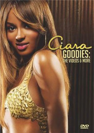 Goodies: The Videos & More - Image: DVD Ciara Goodies