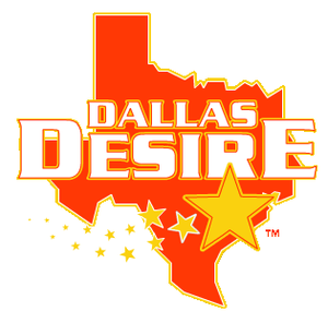 Dallas Desire - Logo used from 2004 to 2008