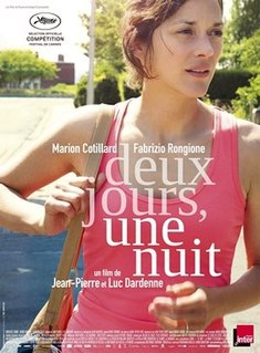 2014 film directed by Jean-Pierre and Luc Dardenne