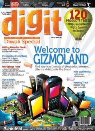 Digit (magazine) - October 2009 issue
