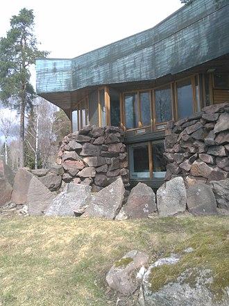 Reima and Raili Pietilä - Dipoli Student Building, Espoo