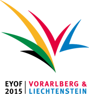 2015 European Youth Olympic Winter Festival - Image: EYOF 2015 Vorarlberg Liechtenstein Logo