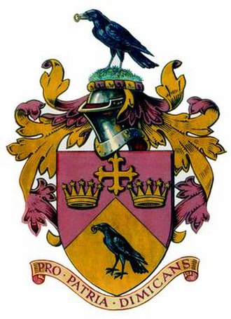 Ellesmere College - Image: Ellesmere College Grant of Arms Full Achievement