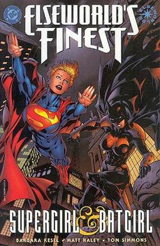 Alternative versions of Supergirl - Supergirl and Batgirl