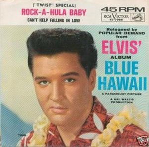 Rock-A-Hula Baby - Image: Elvis Rock a Hula