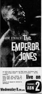 <i>The Emperor Jones</i> (1960 TV play)