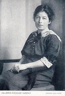 Eugénia Miskolczy Meller Hungarian feminist