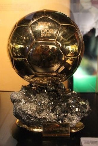 FIFA Ballon d'Or - FIFA Ballon d'Or awarded to Messi in 2010
