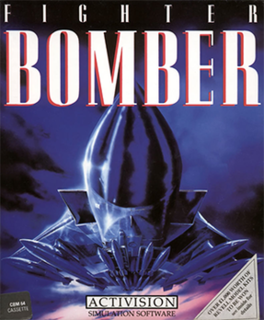 <i>Fighter Bomber</i> (video game) 1989 video game