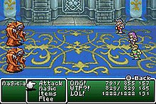 final fantasy 1 and 2 gba rom