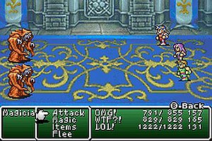 Final Fantasy II - Image: Final fantasy ii GBA