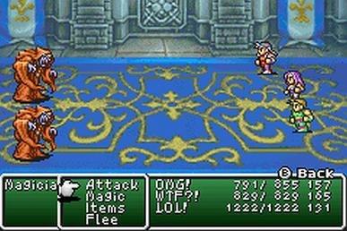 Final fantasy ii GBA