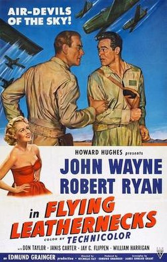 Flying Leathernecks - Theatrical release poster