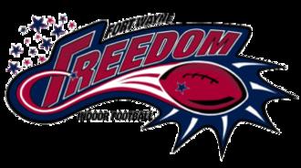 Fort Wayne Freedom - Original logo of the Freedom.