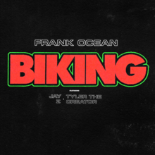 Biking (song) - Wikipedia