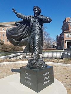 Statue of Frederick Douglass (College Park, Maryland) Statue in College Park, Maryland, U.S.