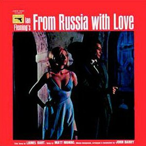 From Russia with Love (soundtrack) - Image: From Russia With Love (movie soundtrack album cover)