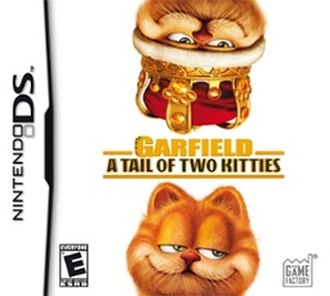 Garfield: A Tail of Two Kitties (video game) - Image: Garfield A Tail of Two Kitties Coverart
