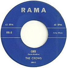 Gee the Crows 1953.jpg