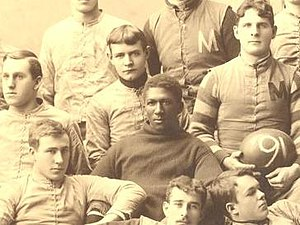 George Jewett - George Jewett in 1890 Michigan team photograph