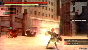 Gods Eater Burst - Gameplay of Gods Eater Burst.