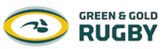 Green and Gold Rugby - Image: Green and Gold Rugby Logo