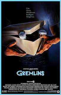 <i>Gremlins</i> 1984 horror comedy film directed by Joe Dante