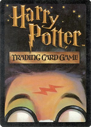 Harry Potter Trading Card Game - Harry Potter Trading Card Games card back design