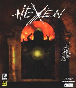 Hexen: Beyond Heretic - PC box art