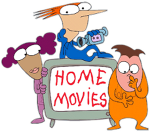 Home Movies (TV series) - Left to right: Melissa, Brendon and Jason.