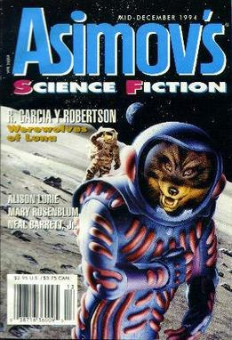 Cover for an issue of Asimov's Science Fiction