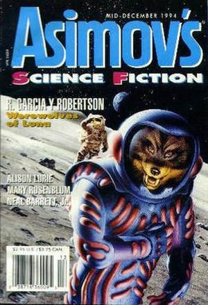 Asimov's Science Fiction - Cover for an issue of Asimov's Science Fiction