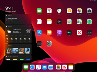 iPadOS 13 Mobile operating system of the iPad