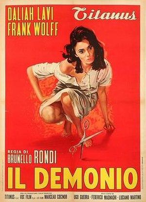 Il demonio - Italian theatrical release poster