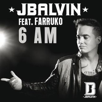 J Balvin featuring Farruko - 6 AM (studio acapella)