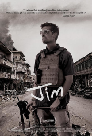 Jim: The James Foley Story - Theatrical release poster
