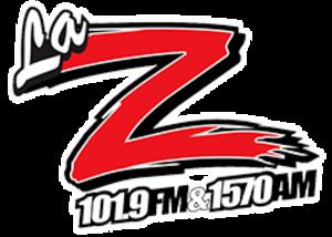 KTUZ (AM) - Image: KTUZ La Z101.9 1570 logo