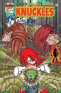 <i>Knuckles the Echidna</i> (comics)