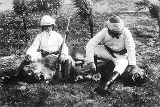 <i>Løvejagten</i> 1907 film by Viggo Larsen