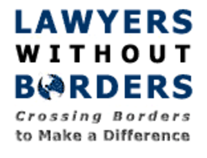 Lawyers Without Borders - Image: Lawyers Without Borders logo
