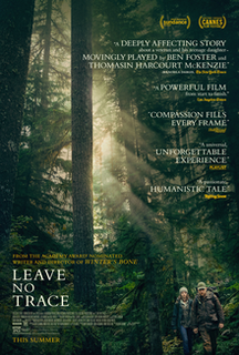 <i>Leave No Trace</i> (film) 2018 film directed by Debra Granik
