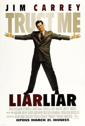 Liar Liar - Theatrical release poster
