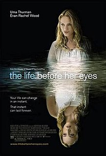 <i>The Life Before Her Eyes</i> 2007 thriller drama movie directed by Vadim Perelman
