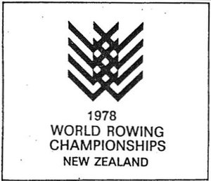 1978 World Rowing Championships - Logo of the 1978 World Rowing Championships