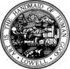Official seal of City of Lowell