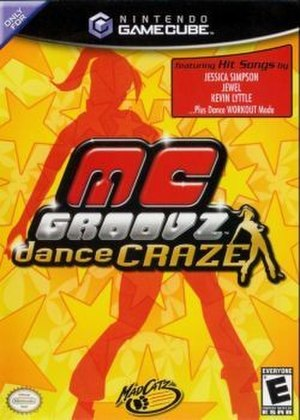 MC Groovz Dance Craze - North American cover art